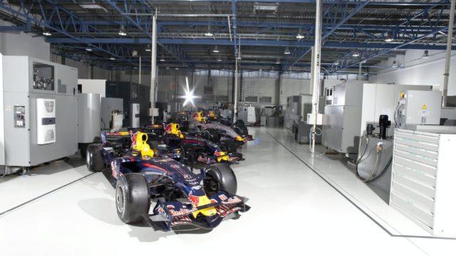 Fabrieksbezoek Red Bull Racing