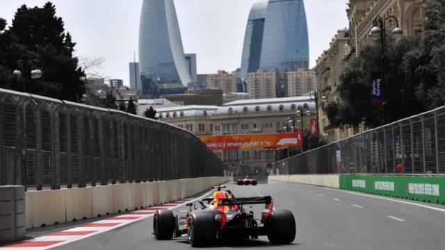 Formule 1 Grand Prix Azerbeidjan