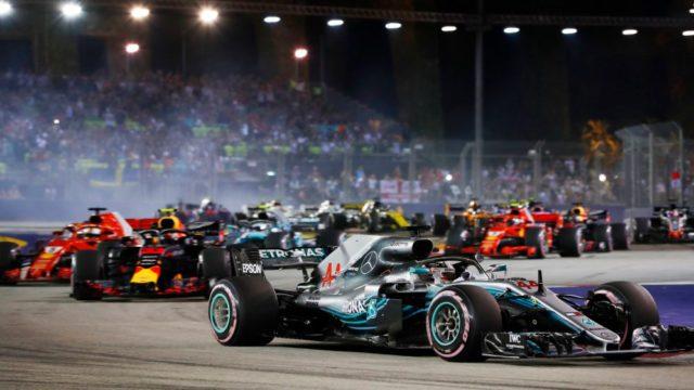 Formule 1 Grand Prix Singapore